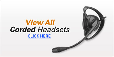 View All Corded Headset