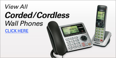 Corded/Cordless Wall Phones