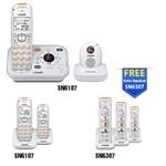 VTech SN6187-(2) SN6107-(2) SN6307 Home Safety Telephone System