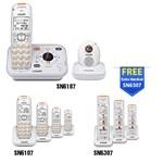 VTech SN6187-(4) SN6107-(2) SN6307 Home Safety Telephone System
