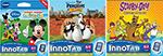 Vtech Toys 80-230400 + (1) 80-230500 + (1) 80-230800 Vtech Innotab Sof