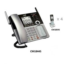 Analog Phone Systems vtech cm18445 plus cm18045 4