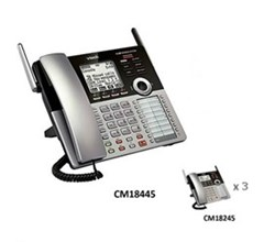 Analog Phone Systems vtech cm18445 small business office bundle