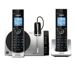 2 Handsets Phones with an Answering Machine ds6771 3