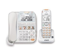 VTech Corded/Cordless Wall Mountable Phones   sn6147