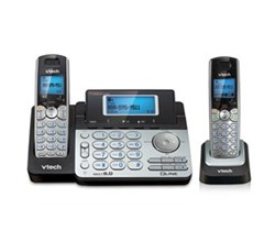 2 Handsets Phones with an Answering Machine VTech ds 6151 1 ds 6101
