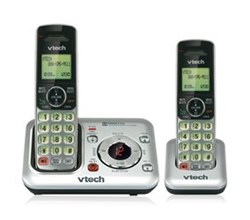 2 Handsets Phones with an Answering Machine VTech cs6429 2