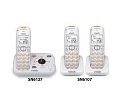 Corded/ Cordless Phones SN6127 2 SN6107
