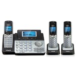 VTech DS6151 (2) DS6101 2 Line Expandable cordless phone