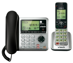 Single Line Phones with Answering Machine  VTech cs6649