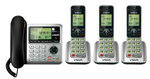 VTech CS6649-3 Corded/Cordless Answering System