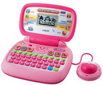 VTech Toys 80-120550 VTech Tote & Go Laptop - Pink Web Connected
