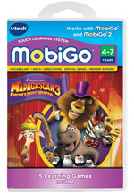 VTech Toys 80-252100 VTech MobiGo Software Cartridge - Madagascar 3