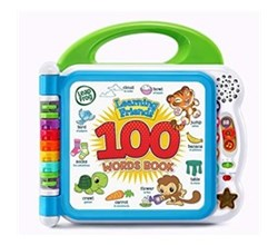 Vtech Reading Systems learning friends 100 words book by vtech