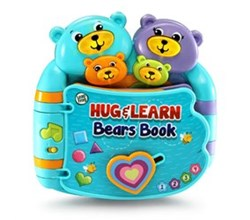 Vtech Reading Systems hug and learn bears book by vtech