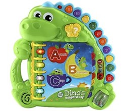 Vtech Reading Systems dino s delightful day book by vtech