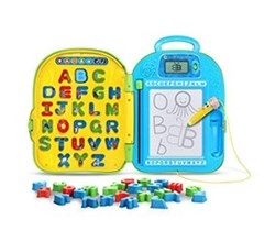 VTech Kids Pre School Learning go with me abc backpack by vtech