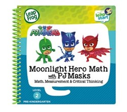 Vtech Reading Systems leapstart moonlight hero math with pj masks book