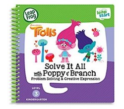 Vtech Toys 7 Years leapstart solve it all with poppy and branch trolls book by vtech