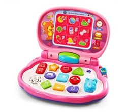 VTech Learning PCs vtech brilliant baby laptop pink