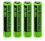 VTech Battery for VTech NiMH AAA (4-Pack) NiMh AAA Batteries 4-Pack