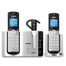 2 Handsets Phones with an Answering Machine VTech ds6671 3