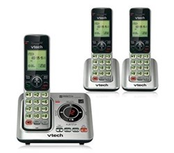VTech three handset phones VTech cs6629 3