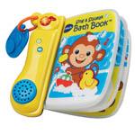 VTech Toys 80-143700 VTech Scrub-a-Dub Bath Book