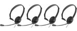 VTech KX-TCA400 - VTech - 4 Pack-N Panasonic Over The Head Headset
