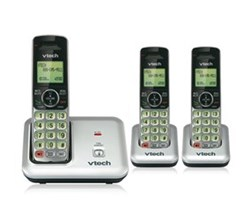 VTech three handset phones VTech cs6419 2 cs6409